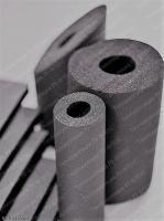 РУ-ФЛЕКС СТ (ST) Вспененный каучук в трубках и рулонах самоклеющихся, с покрытиями и без.