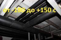РУ-ФЛЕКС ВТ (HT) - Высокотемпературный вспененный каучук до 150 С в трубках и рулонах (самокл., различные покрытия и без)
