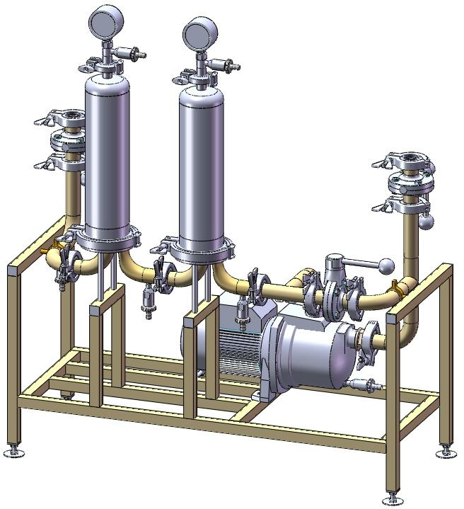 Многокаскадные фильтрационные установки