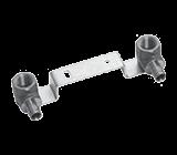 Комплект водорозеток Q&E на монтажной планке, Uponor PE-Xa