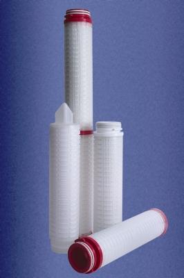 Гофрированные фильтрующие элементы ЭКОПОР-F-G-M марки ЭФП-525-G на основе мембраны из политетрафторэтилена