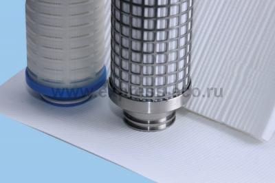 Гофрированные фильтрующие элементы ЭКОПЛЕН-PE-G марки ЭФП-401-G на основе пористой пленки из свехвысокомолекулярного полиэтилена)