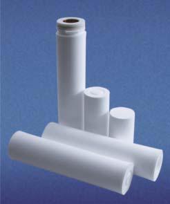 Глубинные фильтрующие элементы ЭКОПЛАСТ-F марки ЭФП-100-L на основе политетрафторэтилена марки фторопласт-4