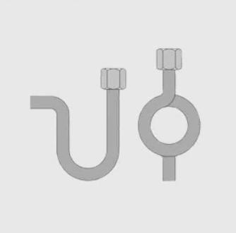 U-ОБРАЗНАЯ, КОЛЬЦЕВАЯИмпульсные трубки